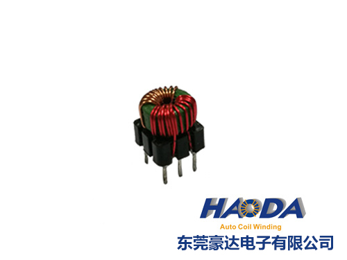 Toroidal core inductor coils