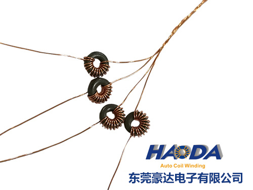 Magnetic ring inductance coils