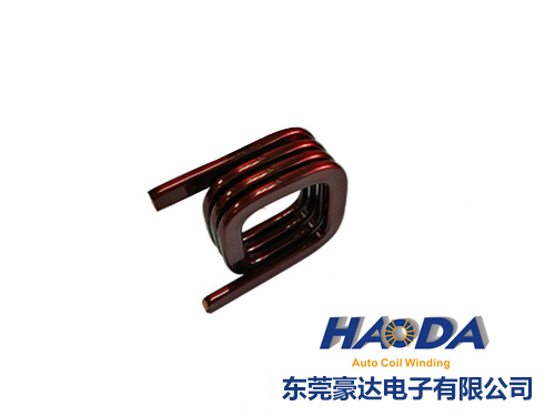 Hollow and flat coils